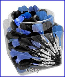 Jug O Steel Black and Blue Steel Tip Bar Darts 100 Pieces