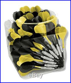 Jug O Steel Black and Yellow Steel Tip Bar Darts 100 Pieces