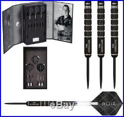 Kim Huybrechts Noir Deluxe Edition 90% Tungsten Black Titanium Steel Tip Darts