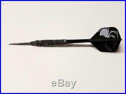 LASERDARTS BLACK WIDOWS 25 Gram Movable-Point Steel Tip Darts SET OF 3