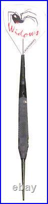 LASERDART BLACK WIDOW FIXED STEEL TIP DART KNURLED 26 gram SHIPS FREE