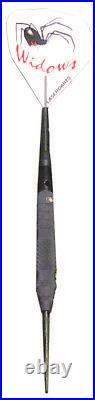LASERDART BLACK WIDOW FIXED STEEL TIP DART KNURLED 28 gram SHIPS FREE