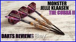 MONSTER STEEL TIP DART Jelle Klaasen THE COBRA 2 Gold 22G FREE SHIPPING