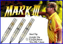 MONSTER STEEL TIP DART Mark Koyama MARK III Gold 23G FREE SHIPPING