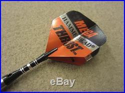 Mega Thrust Hammer Head Steel Tip 90% Darts Tungsten 26g 26m52f with FREE Shipping