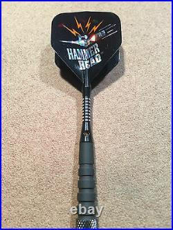 Mega Thrust Hammer Head Steel Tip Darts 90% Tungsten 26g 26m52bk withFREE Shipping