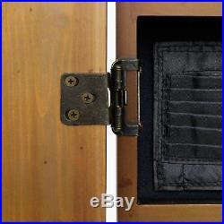 Metropolitan Oak Steel Tip Dartboard Cabinet / 40-0402