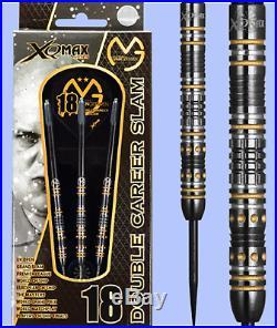 Michael van Gerwen MVG XQMax Steel Tip 90% Tungsten Darts Double Career Slam