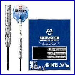Monster Steel Tip Dart- Model Nightmare Rob Hackman 90% Tungsten 22g