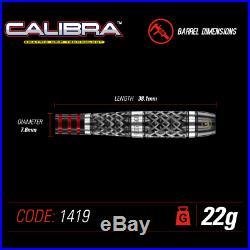 NEW 2019 WINMAU Calibra Steel Tip 90% Tungsten Alloy Darts 22, 24 or 26 Gram