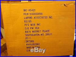 NEW Marlboro Catalog Dartboard in Cabinet 2005 with Steel Tip Darts