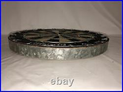 Nodor Supabull II steel tip dartboard moveable number wire Vintage Rare