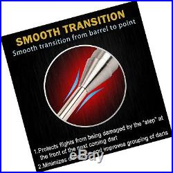 ONE80 90% Tungsten Professional Steel Tip Darts Set with Storage/Travel Case