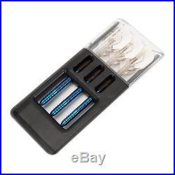 ONE80 Ice Dragon 24 Gram 90% Tungsten Steel Tip Darts with Solibox, Dart Set