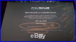 Phil Taylor World Match Play & Legacy limited edition steel tip dart sets new