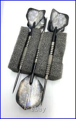 Professional Throwing Steel & Practice Tips Dart Set w Metroline Carrying Case
