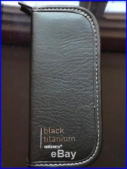 RAYMOND VAN BARNEVELD (RVB / BARNEY) WORLD CHAMPION BLACK TITANIUM 23 Gr Darts