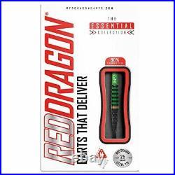 RED DRAGON Krypton 25 Gram Tungsten Professional Darts Set with Flights and