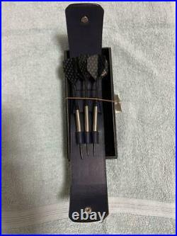 Rare! Dunhill precious darts set, three arrows, leather, free shipping