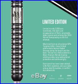 Rob Cross Limited Edition 90% Tungsten 23g Steel Tip Darts