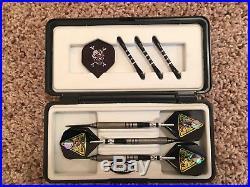 Set of 4 Steel Tip Darts Strict 9 80/20 Tungsten 24, 25 & 26 Grams