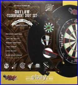 Shot Darts Outlaw Tournament Dartboard Set