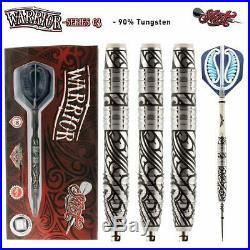 Shot Darts Warrior-Steel Tip Dart Set-3 Series Center Weighted-90% Tungsten B