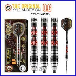 Shot Kyle Anderson O. G. 26 gram 90% Tungsten Steel Tip Darts