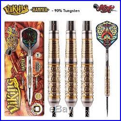 Shot Viking Darts Steel Tip 90% Tungsten Front Weighted Hammer I Free P&P