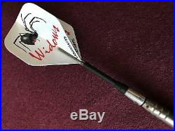Silver Widow Steel Tip Darts 26g Fixed Tungsten LS-SWF126-26 Sm with FREE Shipping