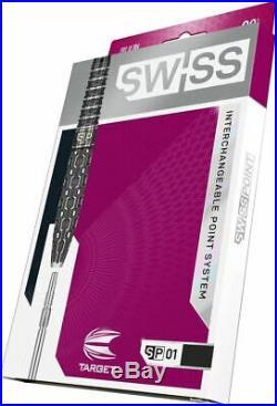TARGET SWISS POINT SP01 STEEL TIP DARTS 24g