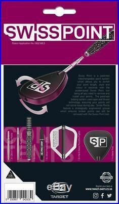 TARGET SWISS POINT SP02 STEEL TIP DARTS 25g