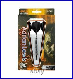 Target Adrian Lewis pixel grip 25g steel tip dart set
