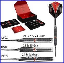 Target Daytona Fire Tungsten Steel Tip Darts Stunning Designs 21 to 26 Gram