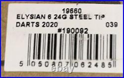 Target Elysian 6th Generation Steel Tip darts #039 Of 200 Low Number. Rare