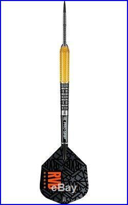 Target RVB 9FIVE Gen 2 Darts Set 21g 23g 25g grams Steel Tip G2 Generation Gold