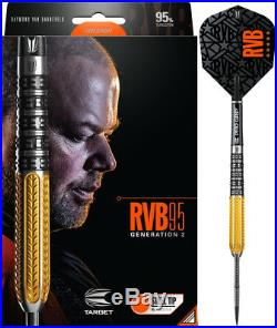Target Raymond van Barneveld RVB95 Gen 2 Steel Tip Darts