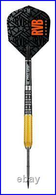 Target Rvb95 G2 Raymond Van Barneveld 95 Tungsten 21 Gram Steel Tip Darts 100155