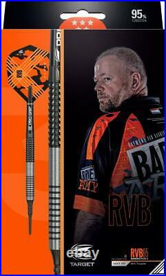 Target Rvb95 G3 Raymond Van Barneveld 95 Tungsten 18 Gram Soft Tip Darts 210043