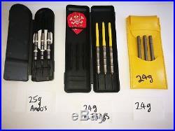 Tungsten darts steel tip