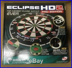 Unicorn Eclipse HD2 Pro Steel Tip Dartboard with FREE Shipping