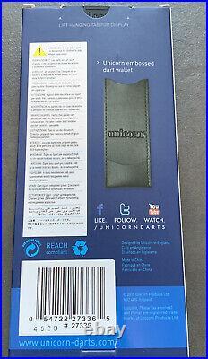 Unicorn Evolution Rosso Darts 26g grams Tungsten Phil Power Taylor Steel Tip (1)