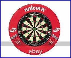 Unicorn Striker Dartboard and Surround Set