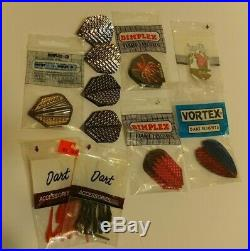 Vintage Bottelsen Dart Co. HammerHead Dart Lot 15 Darts Flights Tips Estate Sale