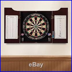 Viper Dartboard Dart Game Board Cabinet Box Darts Set Wood Fiber Steel Tip Shot