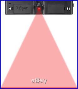 Viper Hudson Sisal/Bristle Steel Tip Dartboard & Cabinet Bundle Elite