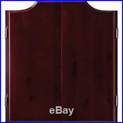 Viper Hudson Sisal/Bristle Steel Tip Dartboard & Cabinet Bundle Elite Set Darts
