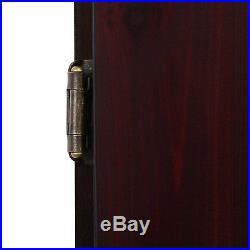 Viper Mahogany Finish Metropolitan Sisal Bristle Steel Tip Dartboard Cabinet