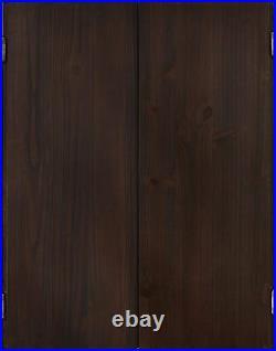 Viper Metropolitan Espresso Steel Tip Dartboard Cabinet / 40-0407