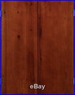 Viper Metropolitan Sisal/Bristle Steel Tip Dartboard & Cabinet Bundle New